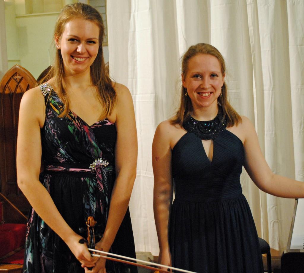 Alexandra Lomeiko & Antonina Suhanova