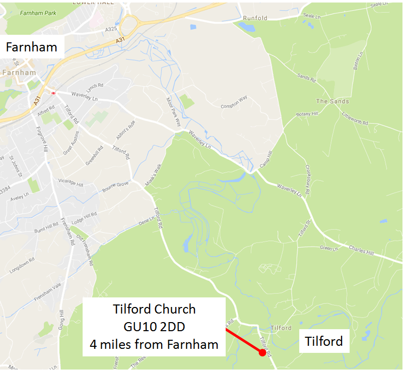 Tilford_Church_map