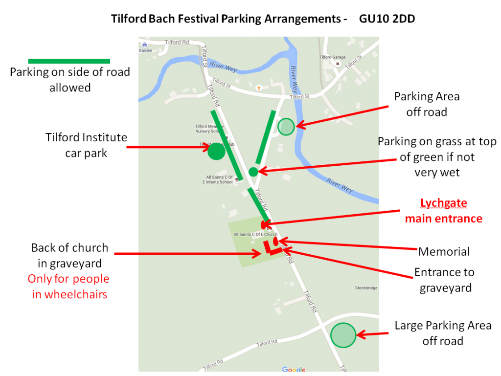 Tilford_parking_map