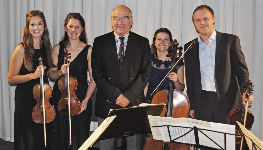 Solem Quartet with Lord David Lea
