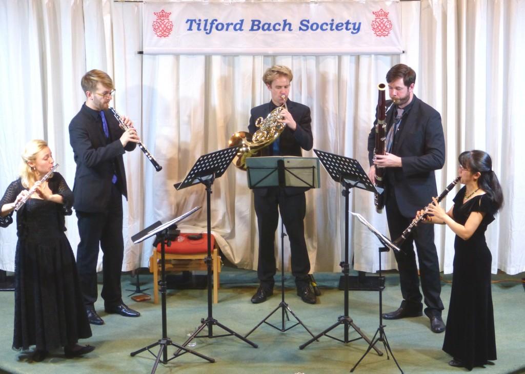 Atea Quintet playing