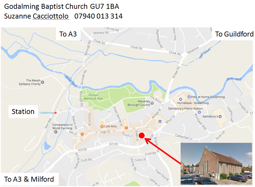 Godalming_Baptist_map